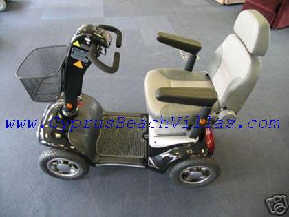 Mobility scooter, suitable for the disables or elterly people